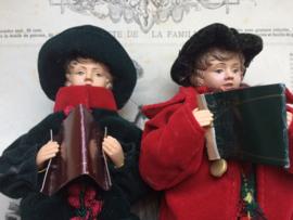 """Beeldig Victoriaans paartje """"Christmas Carols"""""""
