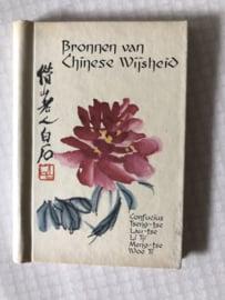 1969 | Boeken | Mini-boeken | Bronnen van Chinese Wijsheid: Confucius, Tseng-tse, Lau-Tse e.a. (13 x 9 x 1 cm)