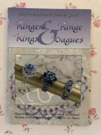 Ringen & Ringe Rings Baques: rijgtechnieken voor sieraden - Lurece Mattens & Leane de Graaf