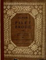 1900 | Album de filet brodé