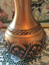 Rood koper | Bloemenvaasje 'Art and Crafts' Duitsland | ca. 1880-1900