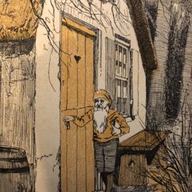 1924 | Nederland | Voor 't kleine Volkje: Sprookjes - F.H.N. Bloemink met Platen van A.J. van 't Hoff