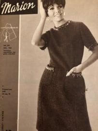 Naaien | Tijdschriften | Marion Patronenblad | Vintage jaren '60