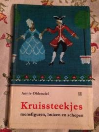 1964 | Kruissteken | Kruissteekjes II:  mensfiguren - huizen en schepen | Annie Oldenziel