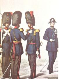Verzamelkaart leger uniformen nr. 23 | België | Grenadiers | 1855