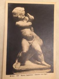 Giovane con cigno | Jongen met zwaan | ca. 1920 - vintage briefkaart Kunst