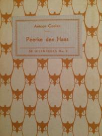 1935 | De Uilenreeks nr. 09 | Peerke den Haas | Antoon Coolen