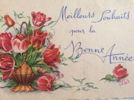 1952-1953 - Nieuwjaar | Vintage briefkaart | Bonne Année