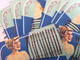 "Viola | Originele vintage haarspelden ""New Viola Hairpins"" WWII  | 1940-1945"