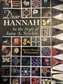 VERKOCHT | Boeken | Quilten | Dear Hannah: In the Style of Jane A. Stickle | American Quilter's Society