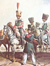 Verzamelkaart leger uniformen nr. 19 | België | Gidsen | 1833