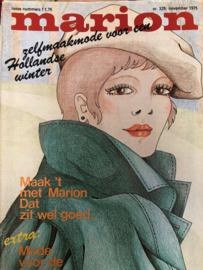 1975 | Marion naaipatronen maandblad | nr. 329 november 1975 - met radarblad