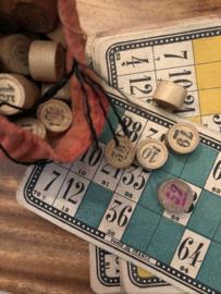 VERKOCHT | Spellen | 1916 | Antiek Loto - Bingo spel uit Frankrijk