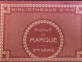 Boeken | Bibliothèque DMC | Kruissteken | Point de marque 3me Série Bibliothèque - 1950