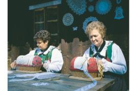 Artikel: Kantklossen in Tirol