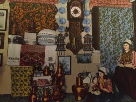 Nederland | Marken | Streekdracht en interieur | Zeldzame ansichtkaart | ca. 1900