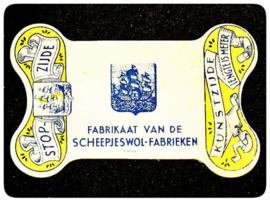 Scheepjeswol Wolbedrijf Van Schuppen & De Bondt Veenendaal & Twente | 1930-1970