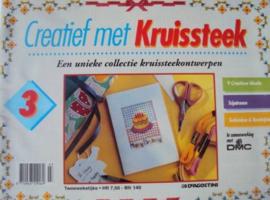 DMC Creatief met kruissteek 3 : een unieke collectie met kruissteekpatronen | 1994