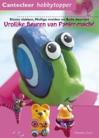 Boeken | Handwerken | Kinderen | Vrolijke figuren van Papier-maché: Slome slakken, mollige meiden en bolle beertjes