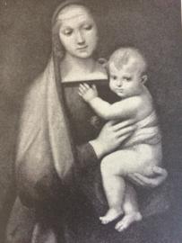 "1970 | Ophangbord ""Lourdes"" Louis XV Honey Faïence de FRANCE"