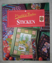 Boeken | Borduren | Duitsland | Nadel & Faden Sticken- Jill Gordon - Könemann