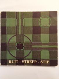 Boeken |  Borduren | Vintage | 1980 | Ruit - Streep - Stip  | Verandering en versiering | Jensma-Tolman, A.W.