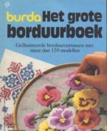1983 | Boeken | Burda | Het grote borduurboek | Geïllustreerde borduurcursussen met meer dan 150 modellen K605