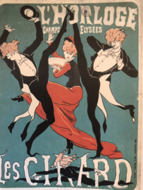 Taschen ansichtkaart Art Nouveau: L'Horloge