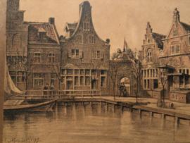 1895 | Tekening uit tijdschrift Oud Holland Hein Kruger 4 mei 1895