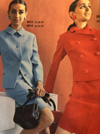 Madeleine: mode en patronenblad van Margriet   1969, nr. 1 januari - gratis radarblad