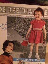 1953 | De Breiblaadjes met patronen - Vintage breireclame | Breibladen 1953