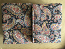 Naaidozen | Franse kartonnen naaidoos met Paisley patroon