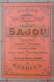 Sajou Album n° 912 crosstitch - red series - NIEUW