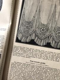 1915 | Beyers handwerkboeken Serie H no. 58 - Teneriffewerk met 152 afbeeldingen | Uitgave G. van Wees Zeist en Amsterdam | Teneriffekant