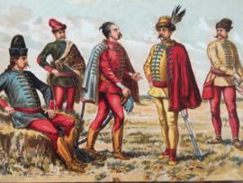 Hongaarse kostuums | 1e helft  van de 18 eeuw  | Hongarije
