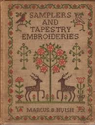 1970 | Boeken | Merklappen | Kruissteken | Tapeserie | Samplers and Tapestry Embroderies: 101 illustrations in color - Marcus Huish