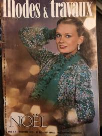 1978 | Modes Traveaux Magazine - Decembre 1977 - N° 937 - 60e Année - KERSTNUMMER - zonder patronenblad