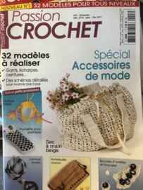Tijdschriften   Haken   Passion Crochet no. 3 Dec 2010 - Janv - Fev 2011 - 32 modèles a réaliser