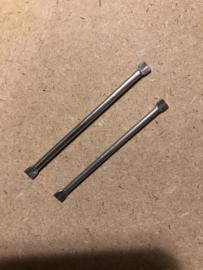 Gespen | ASTOR Staafje voor riem gespen 6 cm - 60 mm