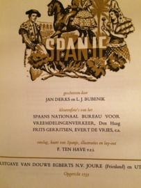 Spanje | Verzamelalbum | Douwe Egberts N.V. Joure (Friesland) en Utrecht | 1963