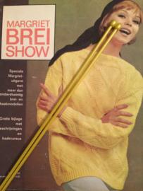 Vintage breinaalden - gele plastic  | maat 5 |  jaren '60-'70