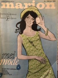 1968 | Marion knippatronenblad | nr. 239 mei 1968 - met radarblad
