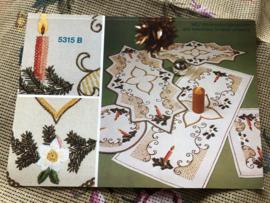 MEZ - DellWea MEZ - Sticktwist 5315 B - borduren | Kerstkleedjes reclame materiaal