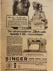 1963 | Advertentie Singer naaimachine