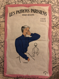 1940 | Les Patrons Parisiens - Série de Luxe Taille 44 - 4.13.122 - blouse patroon