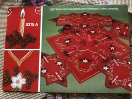 MEZ - DellWea MEZ - Sticktwist 5315 A  - borduren | Kerstkleedjes reclame materiaal