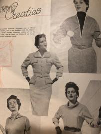1954 | Tijdschrift | Dameswereld - No. 05 - 17e jaargang - 09-03-1954 - kimono - modewereld Hengelo