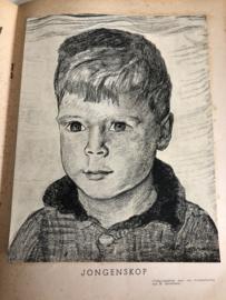 1937 | Moeder | Moeder - nummer 5 mei 1937 met krijttekening van H. Gerretsen