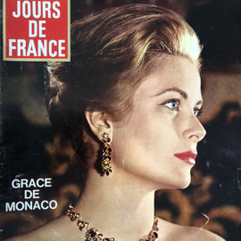 1965 | Jours de France | no 536 20 Fév 1965 - met special over 'Grace de Monaco' Grace Kelly