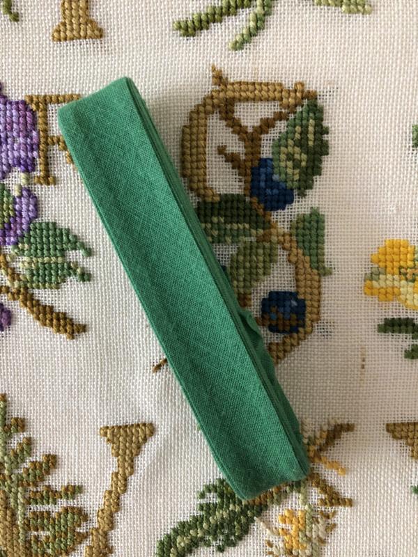 Band | Groen | Biaisband | Middengroen | 2 cm | 100% katoen | Derco - kleurecht : patents pending